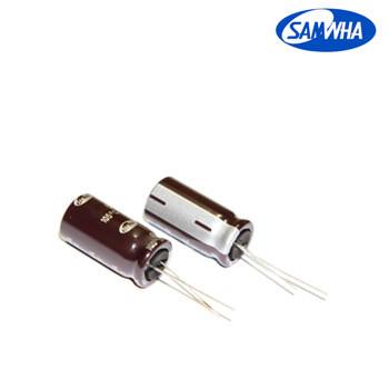 100mkf - 100v (Низький імпеданс) Samwha WL 10*25, 105°C конденсатор електролітичний
