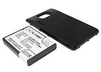 Аккумуляторная батарея CameronSino для смартфона Samsung Galaxy S2, 3200mAh/11.8Wh, с крышкой черного цвета