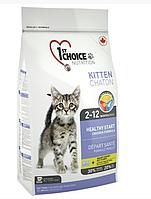 Сухой корм ФЕСТ ЧОЙС 1st Choice Kitten для котят с курицей 907 гр