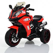 Детский мотоцикл M 3913-3, красный Гарантия качества Быстрая доставка