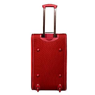 Сумка дорожная на колёсах, бордово-красная MY TRAVEL формованная 50х29х32 см   ксТ400-20бор, фото 2