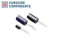 Конденсатор электролитический ENW 100мкФ х 25В LOW ESR