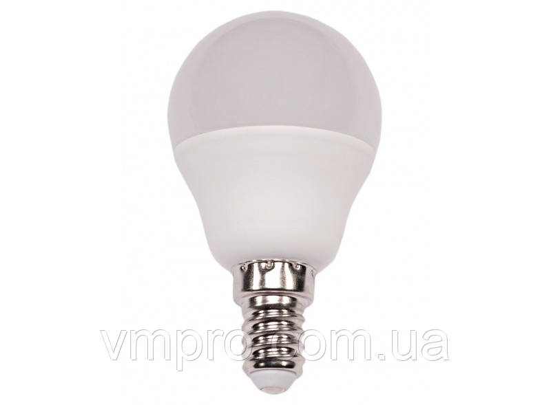 Светодиодная лампа  Luxel G45 7W, E14 (051-N 7W)