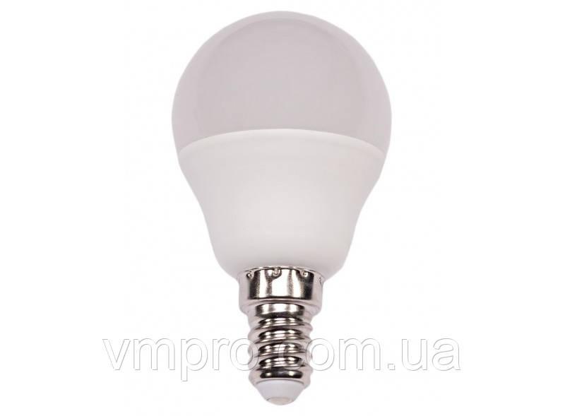 Світлодіодна лампа Luxel G45 7W, E14 (051-N 7W)