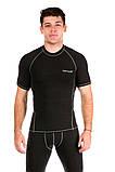 Мужская термофутболка Totalfit TMD1 3XL Темно-серый, фото 2