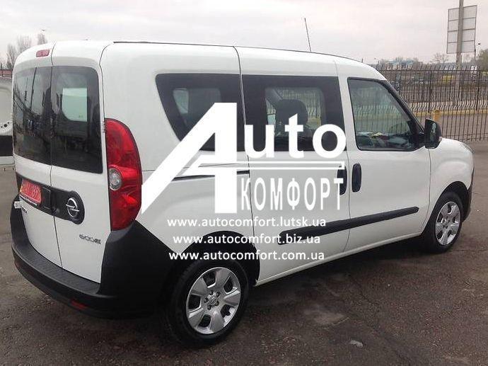 Установка (врезка) автостекол на Opel Combo D (2011-) (Опель Комбо Д 2011-)
