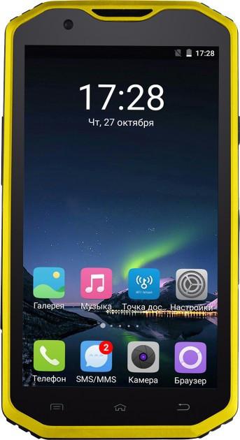 Смартфон Sigma Х-treme PQ31 Yellow-Black Гарантия 12 месяцев