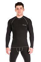 Мужская термофутболка Totalfit TMR1 XL Темно-серый
