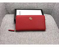 Женский кошелек в стиле Gucci (456117) red, фото 1