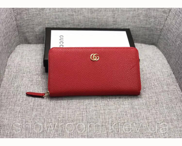 Женский кошелек в стиле Gucci (456117) red