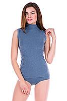 Термогольф женский Totalfit TWM11 L серый, голубой