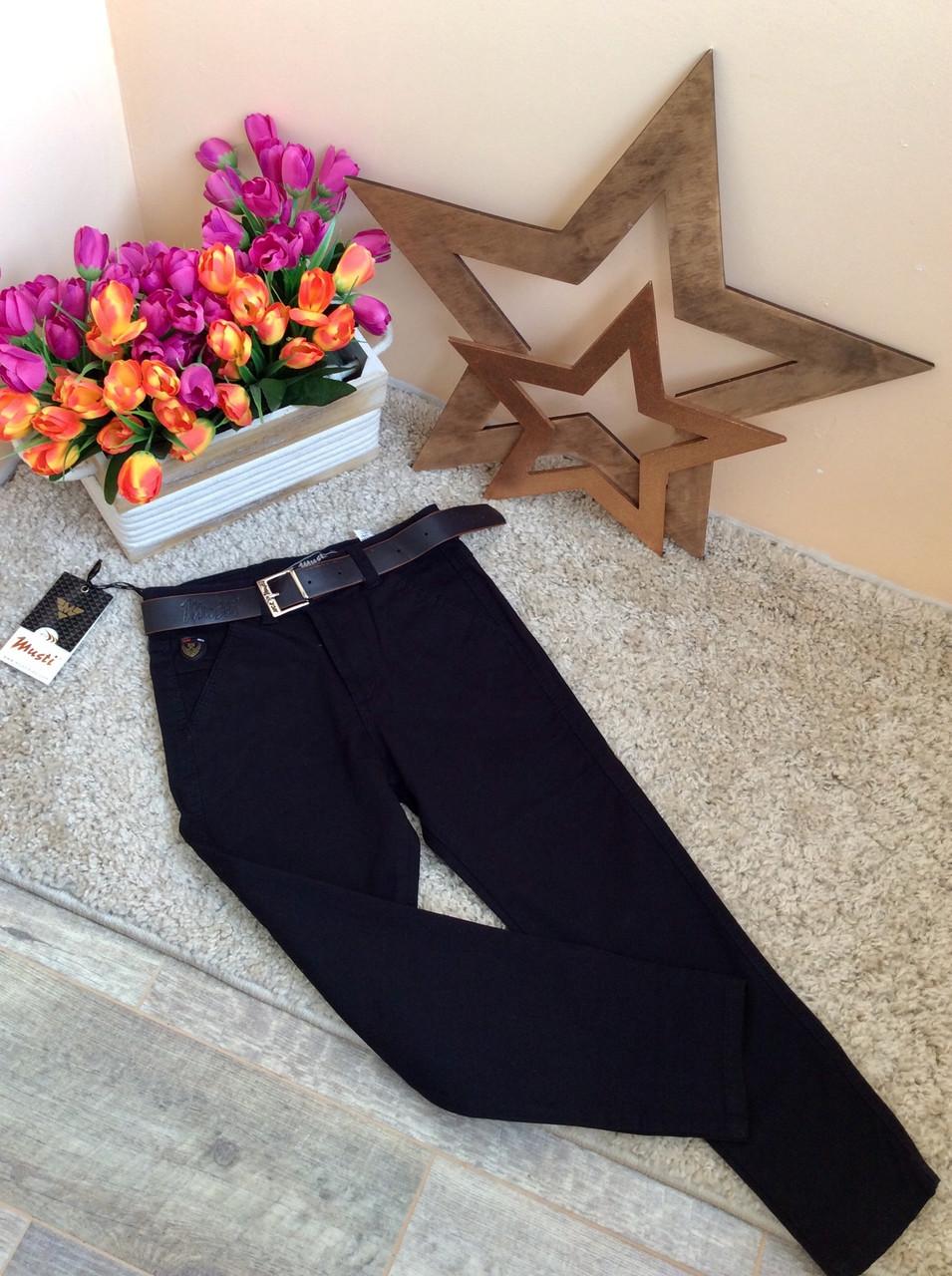 Узкие брюки-чинос от Musti   для мальчиков   Турция 12-17 лет опт и розница