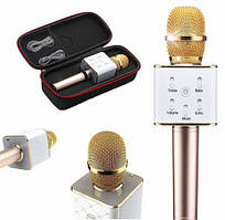 Портативний бездротової мікрофон караоке Q7, bluetooth