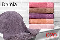 Набор из 6-ти махровых полотенец хлопок 50х90 Hanibaba Damla