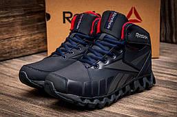 Зимние кроссовки на меху Reebok ZigNANO, темно-синий (3164-1),  [  41 (последняя пара)  ]