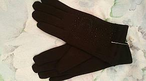 Женские перчатки зимние трикотаж кролик, фото 2