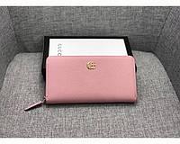 Женский кошелек в стиле Gucci (456117) rose, фото 1