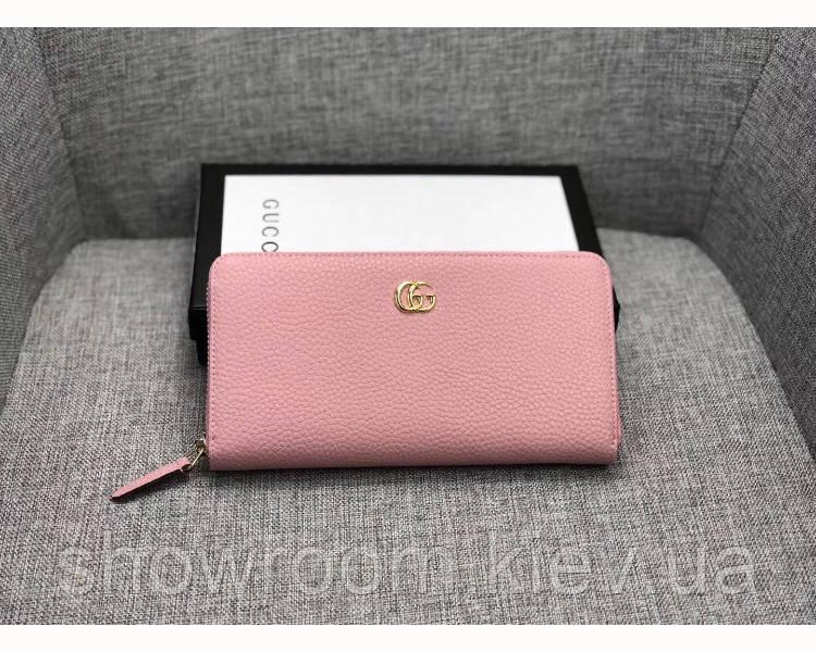 Женский кошелек в стиле Gucci (456117) rose