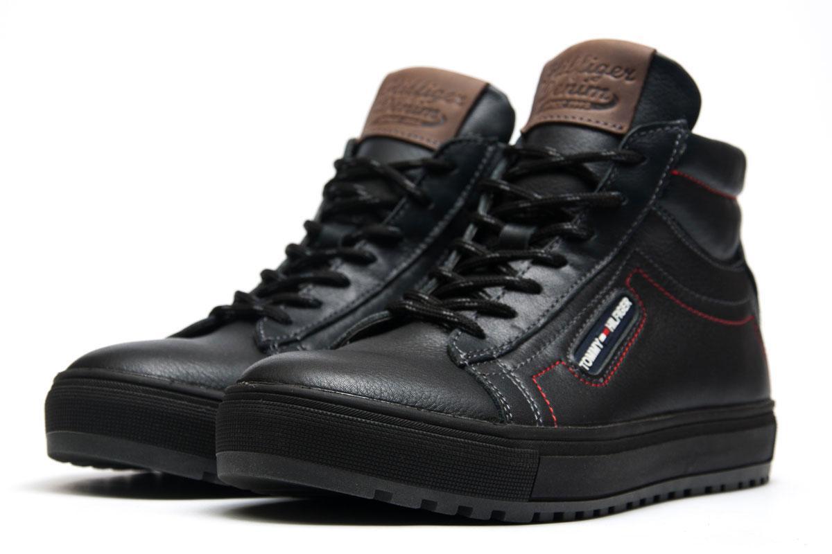 a7b8ab33 Зимние Ботинки Tommy Hilfiger, Темно-синий (3841-2), [ 40 (последняя ...