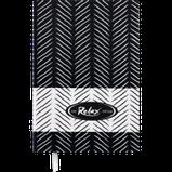 Блокнот ділової RELAX А5 96арк. лінія, що позов. шкіра, чорний, фото 2
