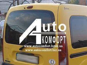 Заднее стекло (ляда) без э. о. на автомобиль Renault Kangoo 96-08 (Рено Кангу), фото 2