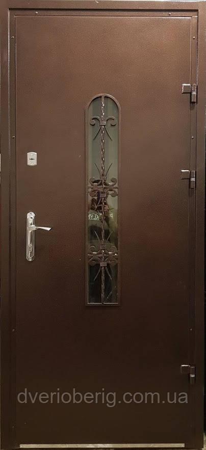 Входная дверь модель Метал/Мдф  217 VINORIT-80 КОВКА