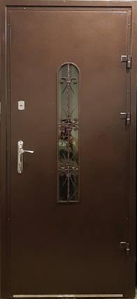 Входная дверь модель Метал/Мдф  217 VINORIT-80 КОВКА, фото 2