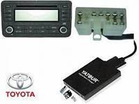 Эмулятор чейнджера автомагнитолы YATOUR USB MP3 AUX адаптер для Toyota Lexus Scion 5+7 Тойота Лексус, фото 1