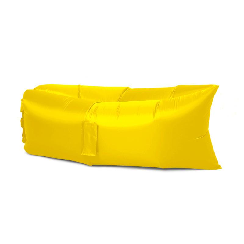 Надувной матрас Ламзак AIR sofa 1,9м, Желтый