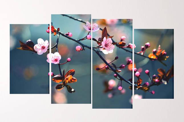 "Модульная картина ""Сакура"", фото 2"