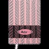 Блокнот деловой RELAX А5 96л. линия, иск. кожа, розовый, фото 2