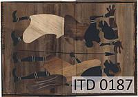 Декупажная карта 0187