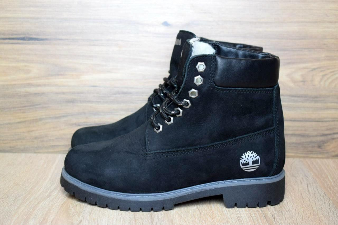 15378f95 Ботинки зимние женские в стиле Timberland код товара OD-3207. Черные -  SNKRS TWO