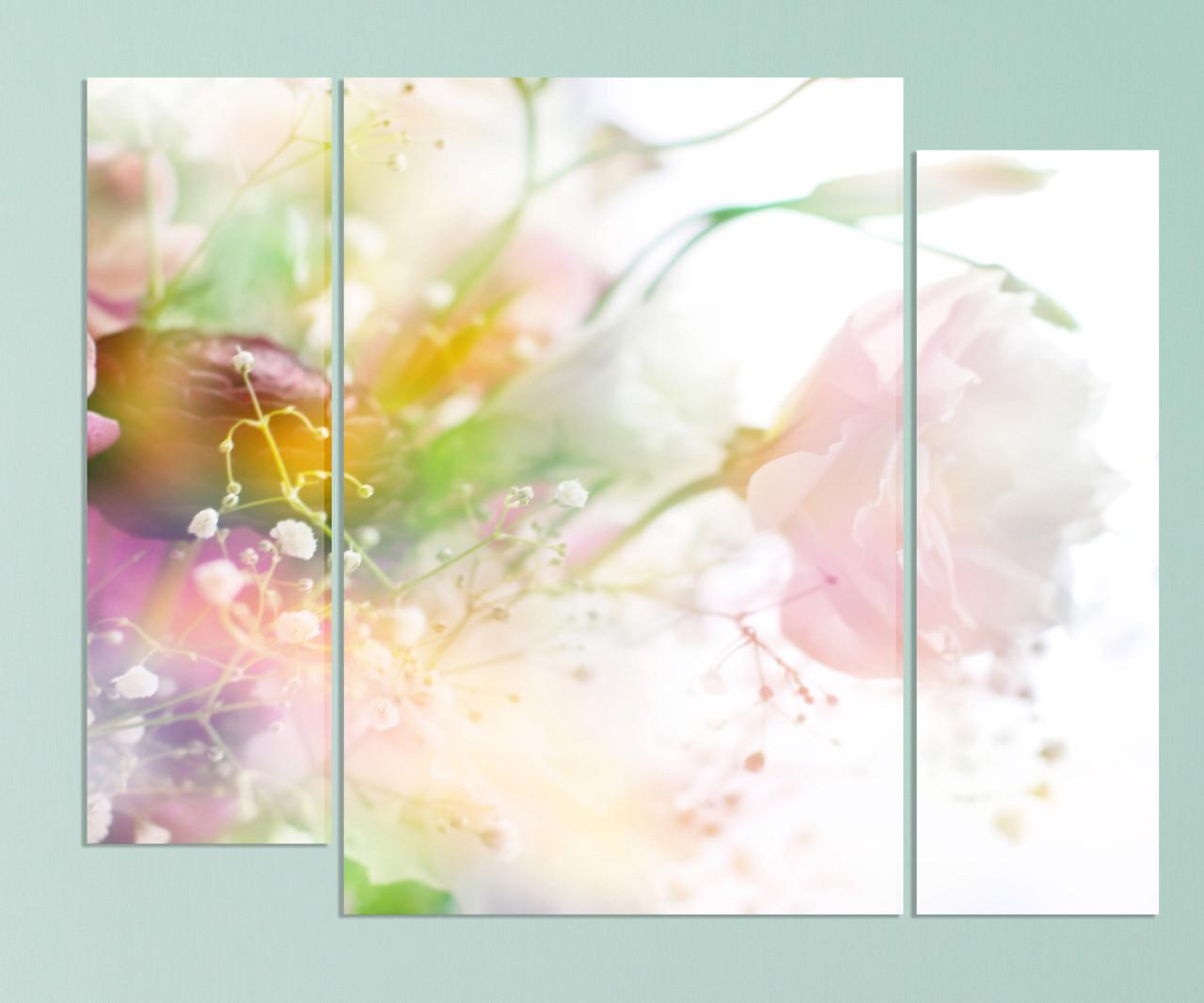 "Модульная картина ""Цветы"""
