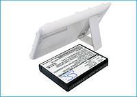 Аккумуляторная батарея CameronSino для смартфона Samsung Galaxy S2, 3200mAh/11.8Wh, с крышкой белого цвета