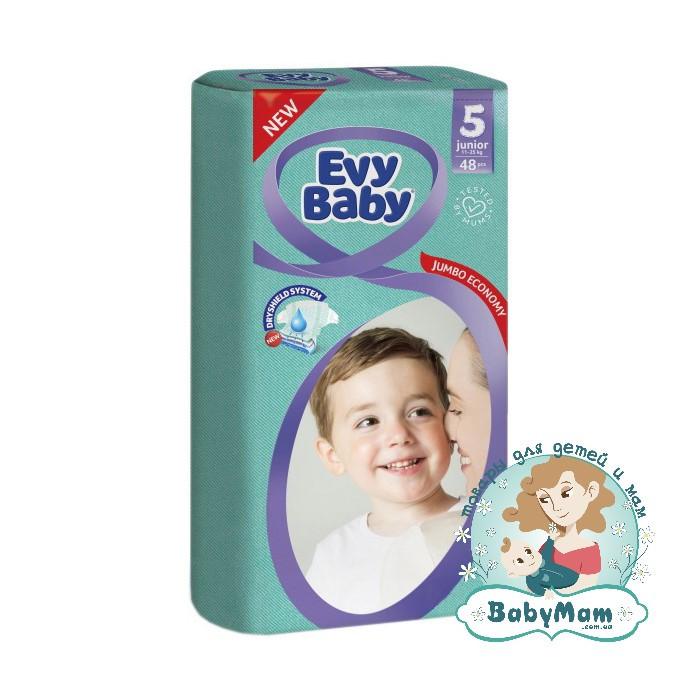 Подгузники Evy Baby 5 (11-25 кг), 48шт