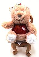 Мишка в красной кофте маленькая мягкая игрушка