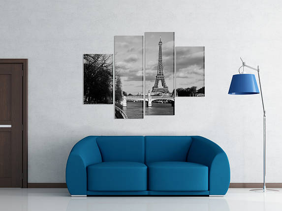"Модульная картина ""Париж"", фото 2"