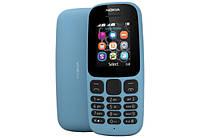Телефон NOKIA 105 New 2017 Dual Sim (blue)