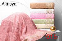 Набор из 6-ти махровых полотенец хлопок 70х140 Hanibaba Akasya