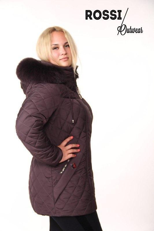 3f5ddc431846 Куртка зимняя Margo Rossi Фиолет