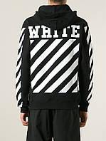 Худі чорне | Off White logo top | Толстовка стильна