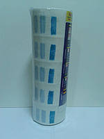 Воротнички парикмахерские бумажные, голубой,  картонная втулка 500шт.