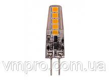 Светодиодная лампа  Luxel G4 2W, 12V (G4-2H 2W)