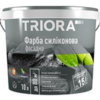 """Краска силиконовая фасадная """"TRIORA"""" 10,0 л"""