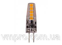 Светодиодная лампа  Luxel G4 2W, 12V (G4-2N 2W)