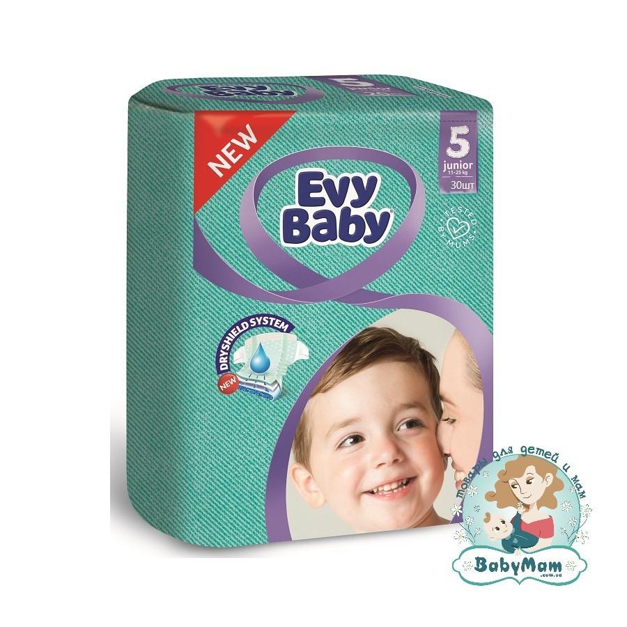 Подгузники Evy Baby 5 (11-25 кг), 30шт