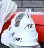 Кроссовки мужские белые Nike Air Max 270 Off-White (реплика), фото 5