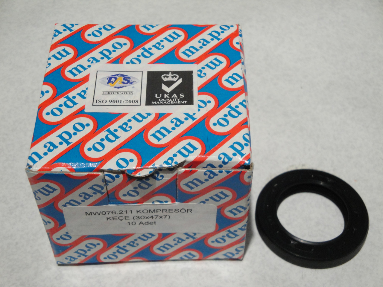 Сальник компрессора 30X47X7 БОГДАН A091-A092 (MW076.211) MAPO