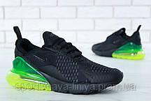 Кроссовки мужские черные Nike Air Max 270 (реплика), фото 3